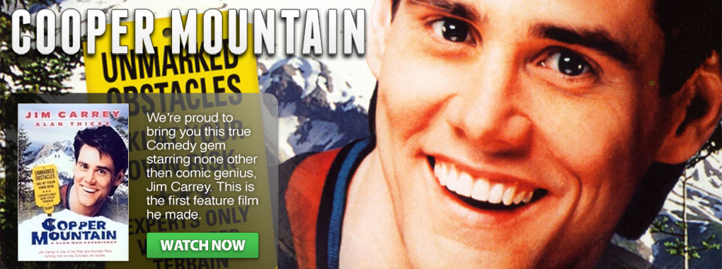 Cooper Mountain, an entertaining comedy, is the first feature film starring Jim Carrey