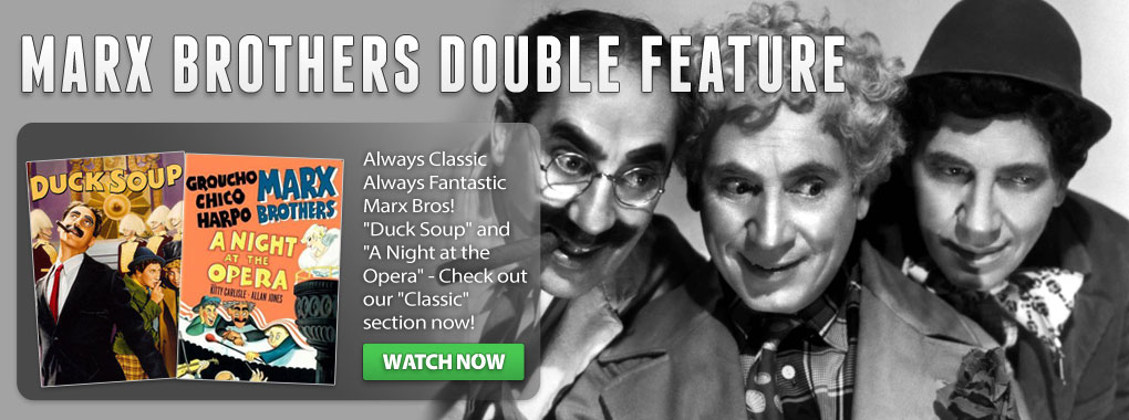 The Marx Brothers star in a double feature, the Duck Soup & A Night At The Opera